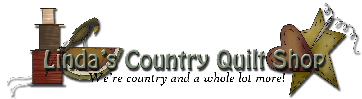 Linda's Country Quilt Shop Logo